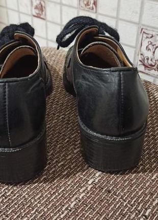 Кожаные туфли для танцев3 фото