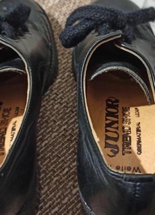 Кожаные туфли для танцев4 фото