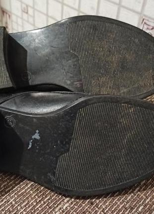 Кожаные туфли для танцев5 фото