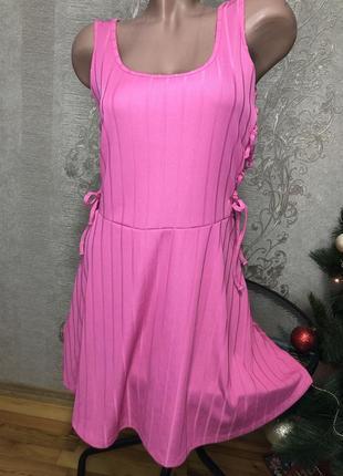 Asos стильное платье под кеды . туфельки, розовое нежное , нарядное