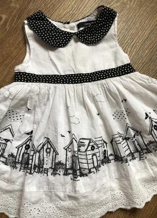 Платье детское (р12-18м)