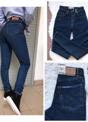 Новые джинсы с высокой талией бойфренды mom jeans