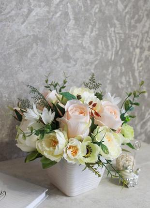 Интерьерные цветы,букет