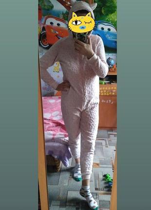 Кигуруми пижама плюшивая