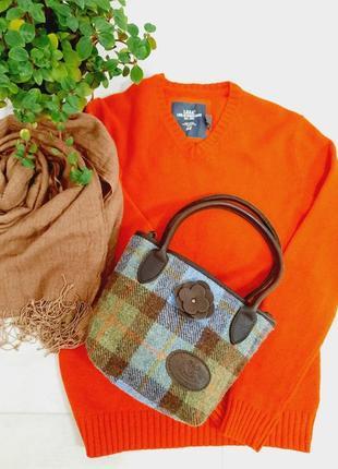 Новая стильная твидовая сумка harris tweed