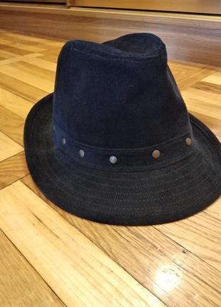 Шляпа вельвет новая