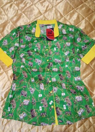 Новая женская рубашка, блуза 42-52,турция