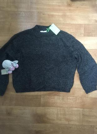 Теплейший свитер оверсайз объемный широкие рукава sela