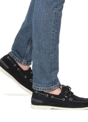 Кожаные топсайдеры, мокасины,туфли от tommy hilfiger, оригинал.