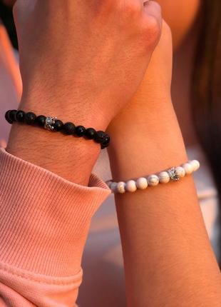 Парные браслеты 200 грн/ 2 шт / мужской браслет / женский браслет