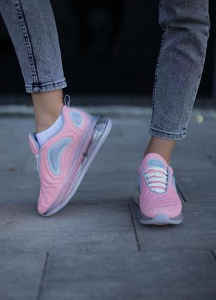 Nike air max 720 pink🆕шикарные кроссовки найк🆕купить наложенный платёж