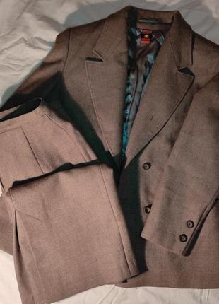 Костюм  классический пиджак жакет юбка блейзер