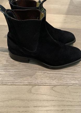 Замшевые ботинки matthew williamson