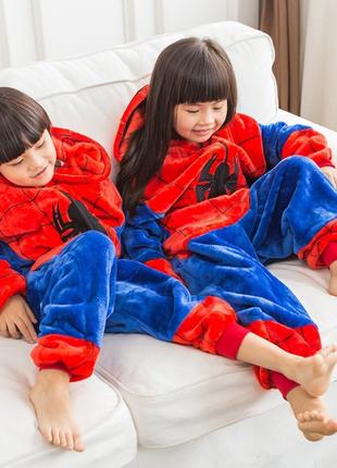Кигуруми детский человек-паук!