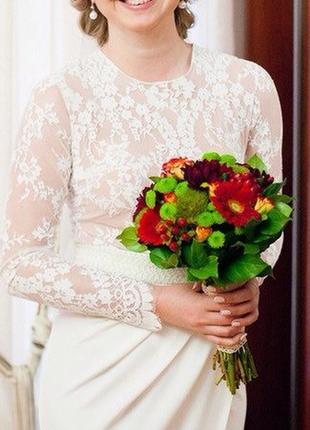 250$ весільне {вечірнє} плаття tulipia {розмір м}5 фото