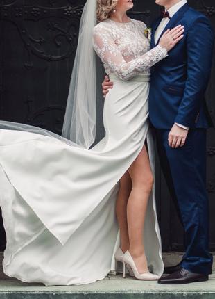 250$ весільне {вечірнє} плаття tulipia {розмір м}4 фото