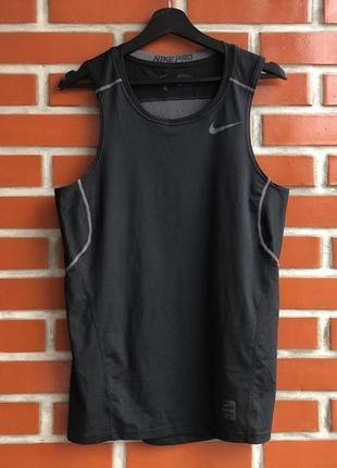 Nike pro dri-fit мужская майка компрессионнка термо размер m