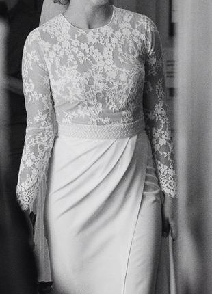 250$ весільне {вечірнє} плаття tulipia {розмір м}2 фото