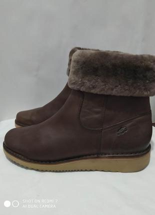 Стильные кожаные ботинки loints of holland