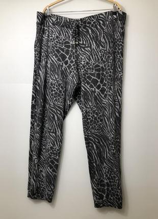 Теплые штаны большой размер 20-22