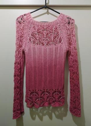 Необыкновенный свитерок со стразиками