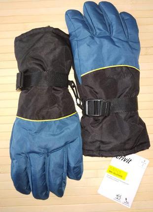 Лыжные термо перчатки мужские краги crivit