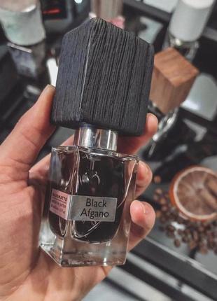 Нишевый парфюм унисекс nasomatto black afgano , 30 мл