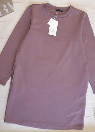 Платье на флисе zara