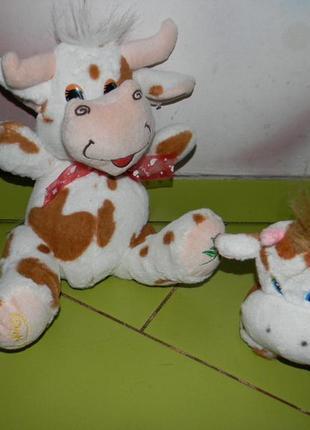 Игрушка мягкая корова 2 шт.
