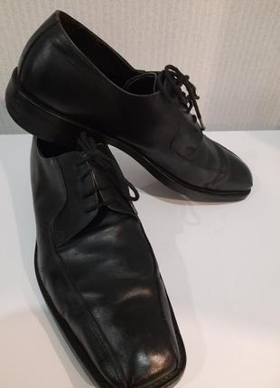 Кожаные осенне-весенние туфли