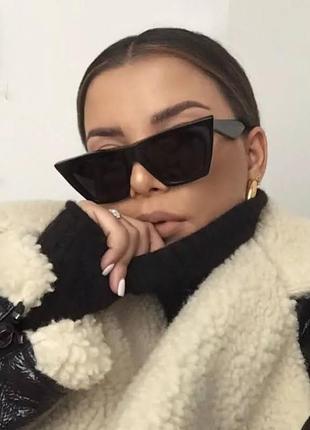 Очки женские солнцезащитные, очки маска