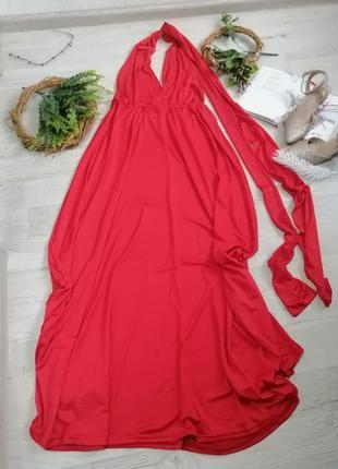 Длинные новогодние платья