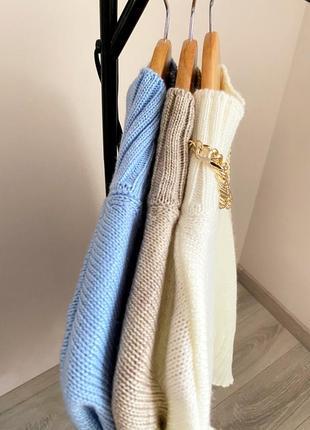 Акція ❤️ свитер теплый с горлом❤️6 фото
