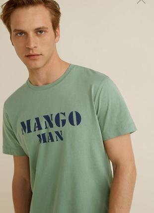 Футболка mango котон