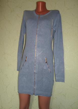 Платье-туника,качество крутое(кашемир,коттон,вискоза,шерсть) джинс цвет