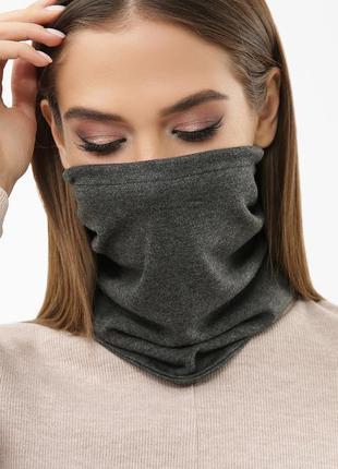Трикотажная маска бафф