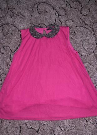 Нарядная блуза цветом фуксия select