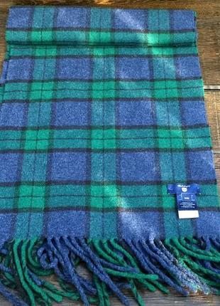 Gant. мужской шерстяной шарф. кашемировый шарф.