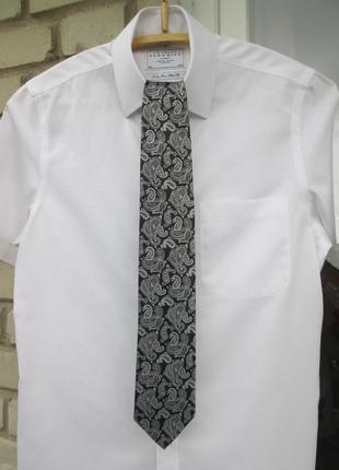 """Статусный. шелковый галстук """"  the savile row """"  8.5 х 152 см."""