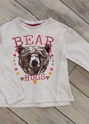 Свитшот медведь кофта