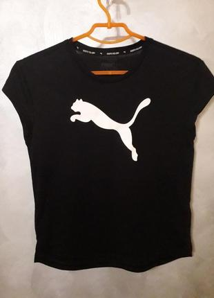 Легенькая футболка puma на девочку 11-12 лет, рост 152
