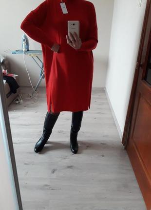 Модное,красивое,женственное,качественное просторное платье-гольф,оверсайз,size+