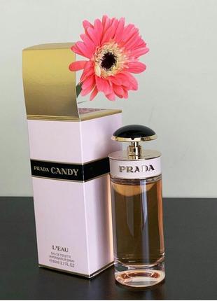 Женский парфюм prada candy l'eau  100 мл