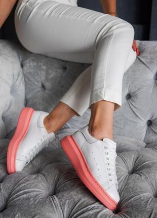 Шикарные женские кроссовки топ качество alexander mcqueen 🥭