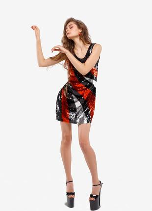 """Платье с паетками в стиле """"диско"""""""