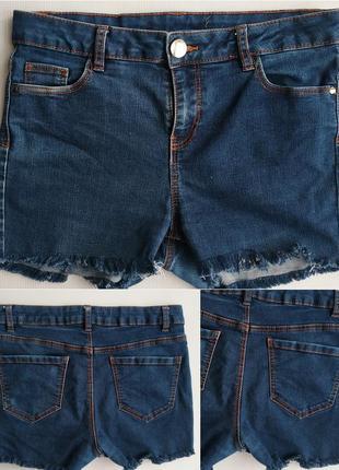 Джинсовые шорты с высокой посадкой george
