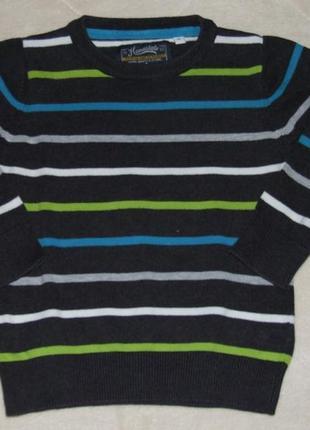 Кофта свитер 3 года мальчику хлопковый palomino