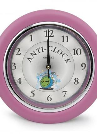 Часы anti-clock идут в обратную сторону