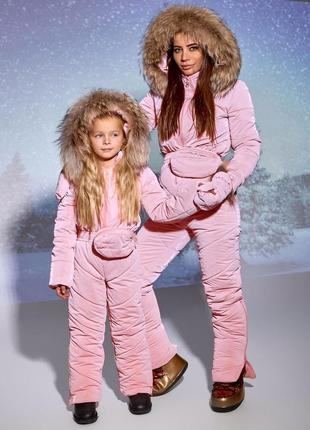 Дитячий зимовий комбінезон
