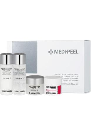 Набор омолаживающих средств с пептидами medi-peel peptide skincare trial kit